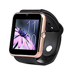3Keys GT08 Smartwatch Phone With Camera and Sim Card Support With Apps like Facebook and WhatsApp Touch Screen