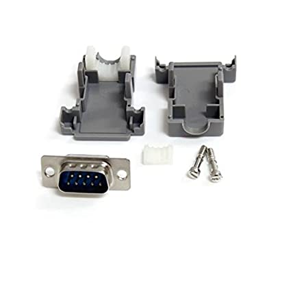 StarTech.com-Assembled-DB9-Male-Solder-D-SUB-Connector-with-Plastic-Backshell-(C9PSM)