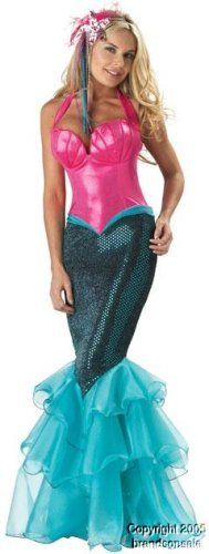 Women's Pacific Mermaid Costume (Sz: Small)