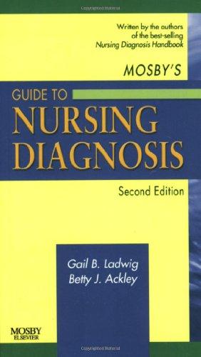 Mosby'S Guide To Nursing Diagnosis, 2E