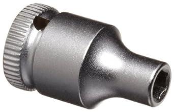 """Wera Zyklop 8790 HMA 1/4"""" Socket, Hex head 4mm x Length 23mm"""