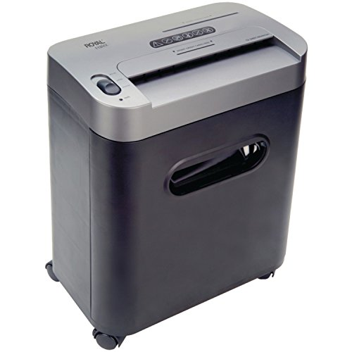 Royal 112MX 12-Sheet Cross Cut Shredder Shreds CD's with Console (Black) (Paper Shredder 12 Sheet compare prices)