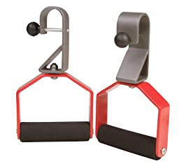 Stamina Rotating Handle Set (Chrome, Red, Black)