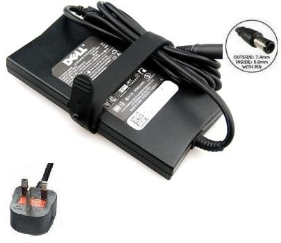 Brand New Genuine DELL Inspiron 15R N5010 N5110 17Z Laptop Adapter Charger Power Supply 90W + UK Power Cord - 1 Year Warranty Sold By (Laptop-Accessories4u)