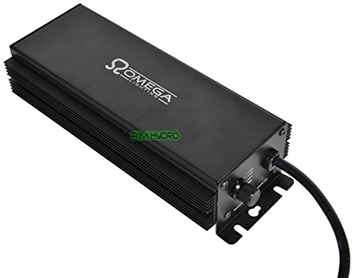 Omega 600W Watt Digital Dimmable Super Lumens Ballast For Grow Light Hydroponics