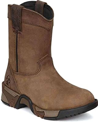 Buy Rocky Boys' Aztec Pull-On Boot 3638 Hiking Boots by Rocky