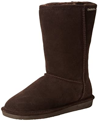 "BEARPAW Women's Emma 10"" Shearling Boot,Chocolate,5 M US"