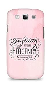 Amez Simplicity is the best form of Efficency Back Cover For Samsung Galaxy S3 Neo