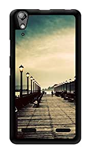 """Humor Gang Road To Nowhere Printed Designer Mobile Back Cover For """"Lenovo A6000"""" (3D, Glossy, Premium Quality Snap On Case)"""