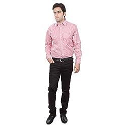 Sangam Apparels Regular Fit Red Mens Formal Shirt