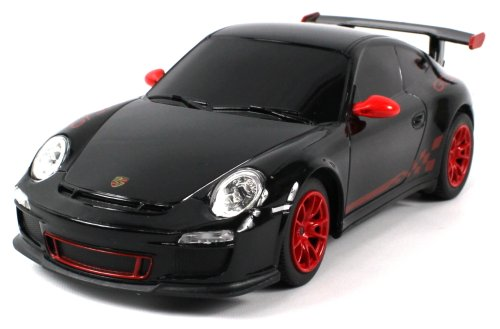 Licensed Porsche 911 Gt3Rs Electric Rc Car 1:24 Scale Rtr Ready To Run, Extremely Detailed Throughout (Colors May Vary)
