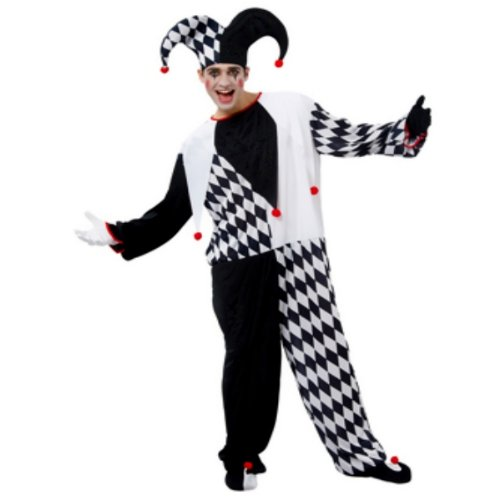 Boland 87162 - Kostüm Herlekin Jester, Einheitsgröße 48-54