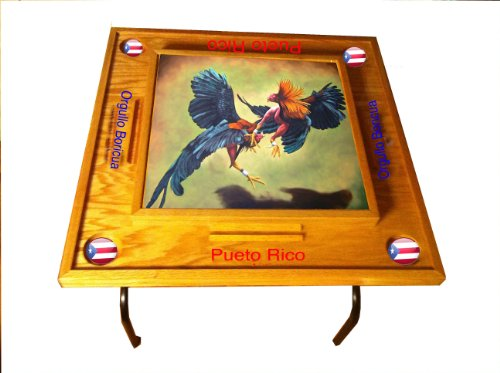 Buy Gallos Domino Table with Puerto Rico Flag by latinos r us