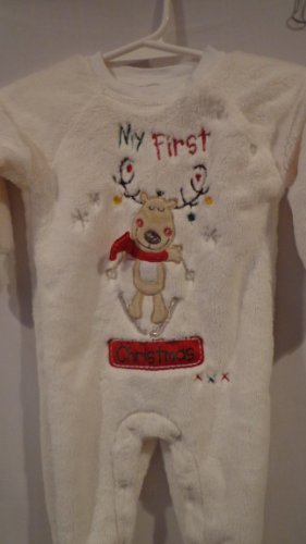 Baby First Christmas Pajamas front-878984