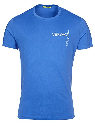 Versace Jeans Couture T-Shirt (M-03-Ts-34965) - 56(DE) / 56(IT) / 56(EU) - blau