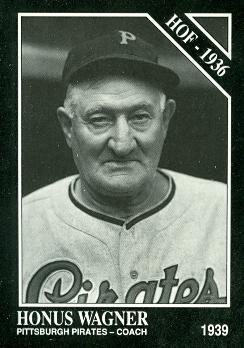Honus Wagner Baseball Card (Pittsburgh Pirates) 1991 Sporting News Conlon Collection #8
