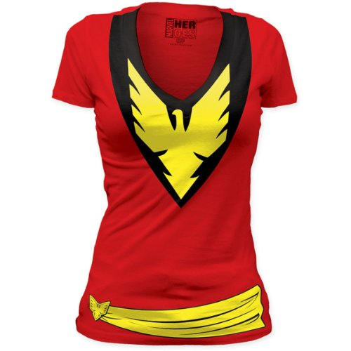 Dark Phoenix Deep V-Neck Tunic Junior