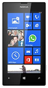 Vodafone Nokia Lumia 520 Pay As You Go Handset - White