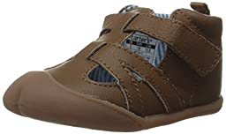Carter\'s Every Step Astor Stage 1 Crawl Walking Shoe (Infant), Brown, 3 M US Infant