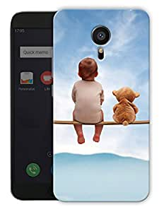 """Humor Gang Baby Friend Cute Printed Designer Mobile Back Cover For """"Meizu Mx5"""" (3D, Matte, Premium Quality Snap On Case)"""