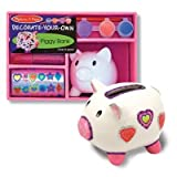 Melissa & Doug - 3108 - Tirelire - Coffret Tirelire Cochon  Personnaliser