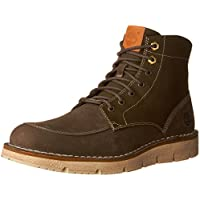 Timberland Mens Westmore Boots (Olive Nubuck / Canvas)