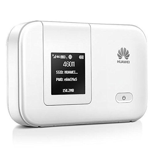 Huawei E5372 Unlock 150 Mbps 4G Lte & 42 Mbps 3G Mobile Wifi Hotspot Pocket Wifi Mobile Modem With Microsd Card Slot (4G Lte In Europe, Asia, Middle East, Africa)
