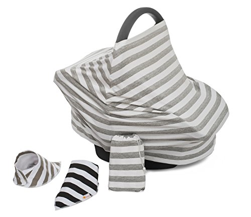 Stretchy Infant Baby Car Seats Covers / Shopping Cart Cover / High Chair Cover Best Gift For Baby (Highchair Insert Pad compare prices)