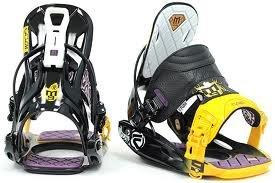 Flow M9 All-Mountain Freestyle Snowboard Bindings (Medium)