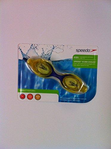 Speedo Scuba Giggles Kids 3 - 8 Purple/yellow Swim Goggles - 1