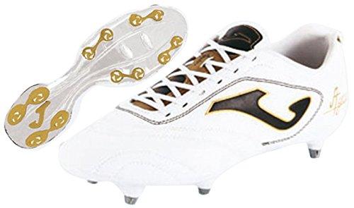 Joma Aguila Gol - Scarpe da calcio da uomo, colore bianco / oro.  Taglia 41