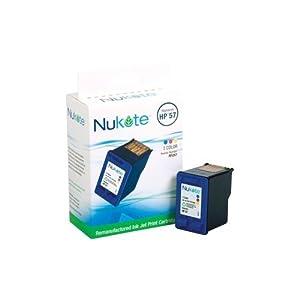 Nukote Rf257 Ink Jet Cartridge for Use With Hewlett Packard Deskjet 5550, Photosmart