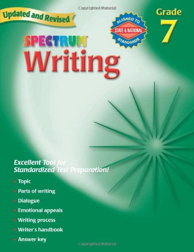 Spectrum Writing: Grade 7