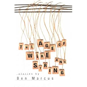 interesting books the age of wire and spring ben marcus
