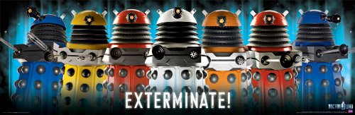 Exterminate Dalek German Doctor Who Daleks Exterminate
