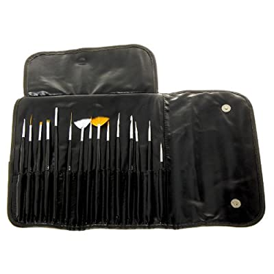 Cheapest MASH Professional 15 piece Nail Art Brush Kit Set by N MARKET - Free Shipping Available