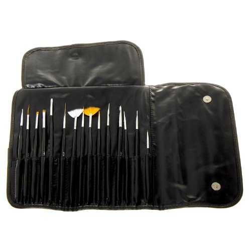 MASH Professional 15 piece Nail Art Brush Kit Set