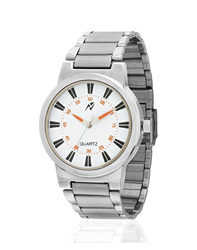 Yepme Freko Men's Watch – White/Silver — YPMWATCH2382