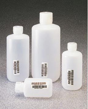I-Chem Certified High-Density Polyethylene Nalgene Containers, Amber;32 Oz. (1000Ml);Narrow Mouth front-554891