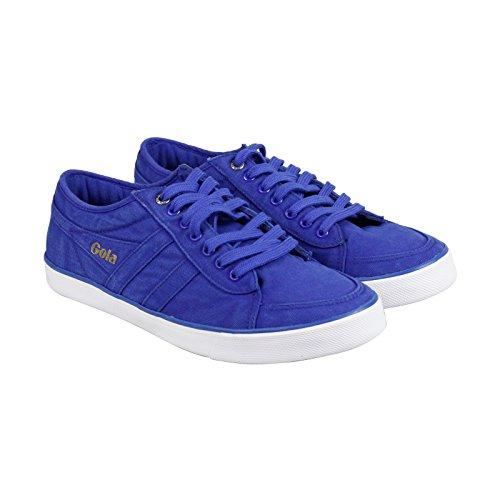 Gola Men's Comet Canvas Fashion Sneaker, Reflex Blue,UK 7/US 8
