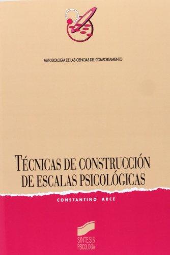 Técnicas de Construcción de Escalas Psicológicas