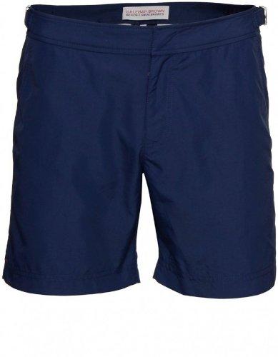 Orlebar Brown Men's Swimwear Navy Bulldog Mid Length Shorts 32