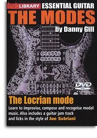 DVD - Lick Library: The Modes - Locrian (Joe Satriani) - GUITAR DVD