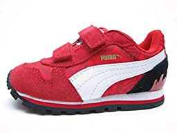 Puma Infant Shoes St Runner Superman Hero Red Fashion (6)