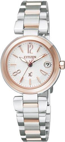 CITIZEN (シチズン) 腕時計 xC クロスシー Eco-Drive エコ・ドライブ 電波時計 MINISOL XCD38-9062 レディース