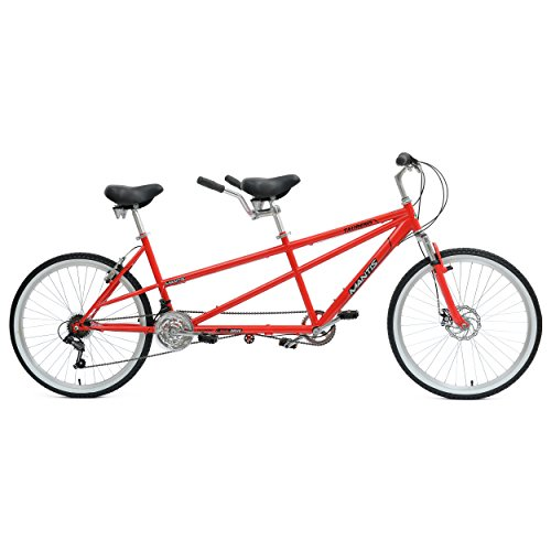 New Mantis Taureno Tandem Bike, 26 inch Wheels, 18 inch Frame, Unisex, Red