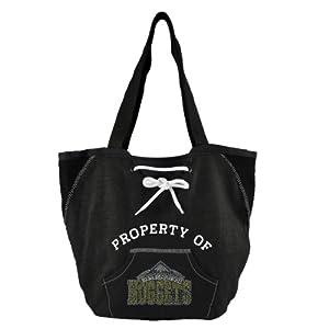 NBA Sport Noir Hoodie Shopper Purse by Littlearth