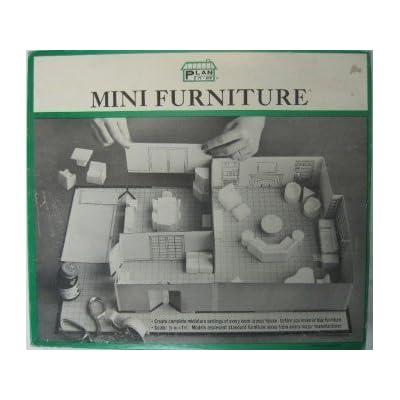 Vintage 1 2 Mini Furniture Arranging Plan It Kit 1965