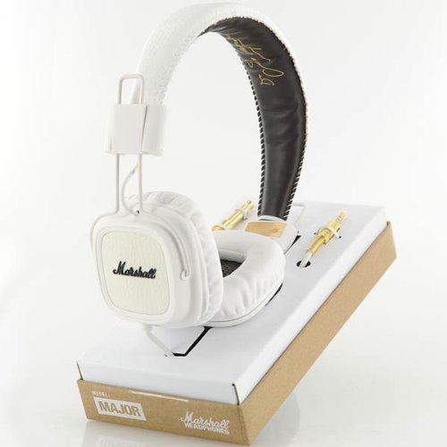 Marshall Major On-Ear Headphones - White