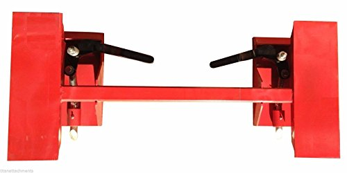 Universal Skid Steer Quick Attach Conversion Hitch Plate Bobtach Blank QT-A image